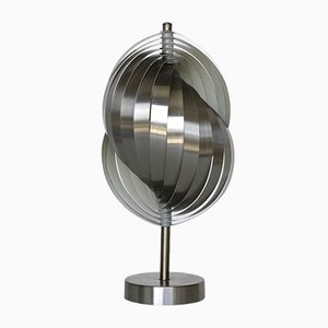 Vintage Spiral Table Lamp by Henri Mathieu for Lyfa, 1970s
