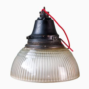 Vintage Industrial Ceiling Lamp from Holophane