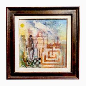 Renato Balsamo, Racconto - Labirinto - Cielo, Gemälde