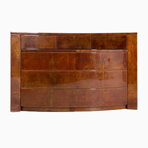 Italian Parchment Chest of Drawers by Giorgio Tura