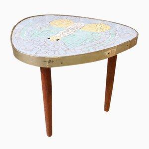 Vintage Dreibein Mosaik Tisch