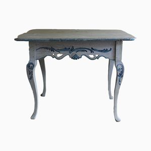 Antique Rococo Painted Occasional Table