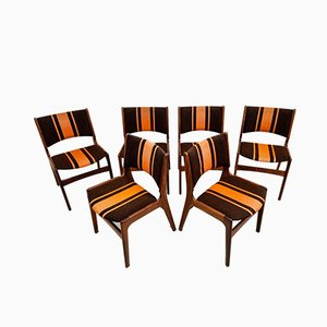 Model 89 Dining Chairs by Erik Buch, Set of 6