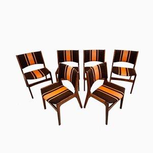 Modell 89 Esszimmerstühle von Erik Buch, 6er Set