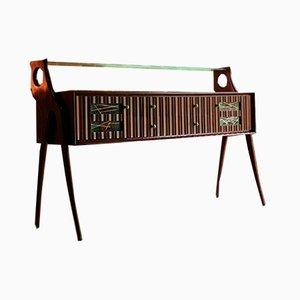 Nussholz Anrichte oder Sideboard von Ico Parisi, Italien, 1950er