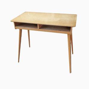 Schreibtisch mit Compass Beinen, 1950er