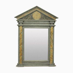 Marmorierter Spiegel im Römer Stil, 1950er