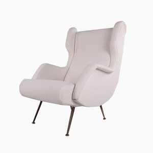 Fauteuil Mid-Century Moderne Senior par Marco Zanuso pour Arflex