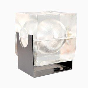 Glas Cubosfera Tischlampe von Uno Westerberg für Pukeberg, Schweden, 1960er