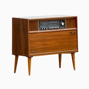 Vintage Movable Scandinavian Vinyl Plate Cabinet