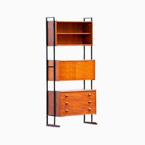 Scandinavian Teak Bookcase or Wall Unit