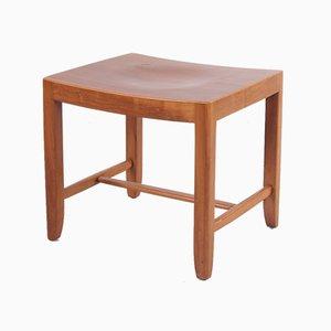 Danish Beech Side Table or Stool, 1960s