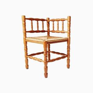 Pine Corner Chair, 1970s