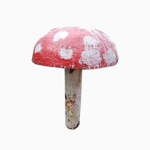 Mushroom in cemento decorativo