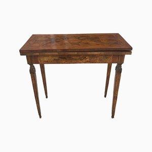 Briar Veneer Game Table