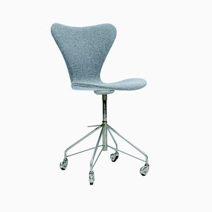 Series 7 Office Chair by Arne Jacobsen for Fritz Hansen, 1950s