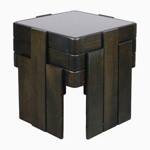 Tables Empilables ou Gigognes Mid-Century par Gianfranco Frattini, 1960s, Set de 3