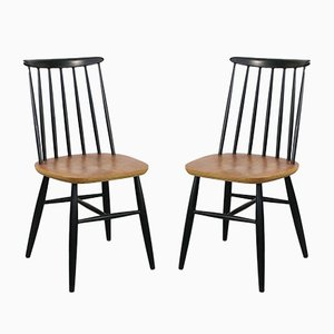 Fanett Dining Chairs by Ilmari Tapiovaara for Stol Kamnik, Set of 2