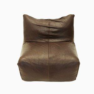 Le Bambole Sessel aus Leder von Mario Bellini für B&B Italia, 1970er