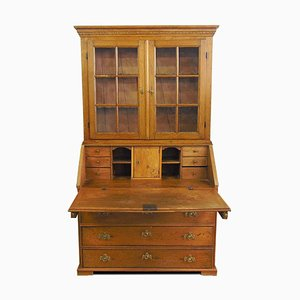 Swedish Oak Cupboard, 1850s
