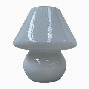 Murano Glas Mushroom Tischlampe von Vetri D'Arte, Italien, 1970er