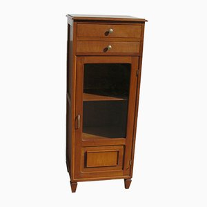 Small Oak Display Cabinet in the Style of Arbus, 1950s