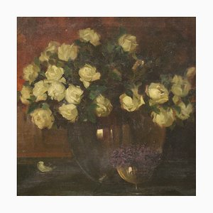 Still Life Vase with Flowers, Early 20th Century