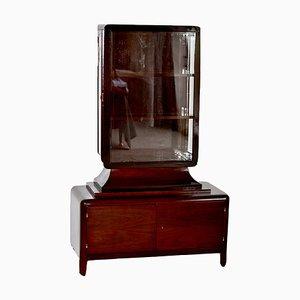 Art Deco Taillien Showcase Cabinet
