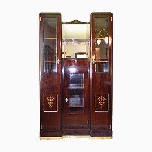 Viennese Art Nouveau Display Cabinet