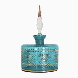 Recipiente vintage color cognac, anni '50