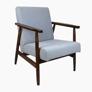 Grauer Vintage Sessel, 1970er