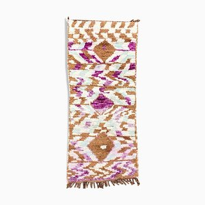 Handmade Woollen Berber Boujad Carpet