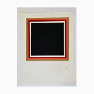 Siebdruck von Aurélie Nemours, 1974