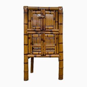 Schrank aus Bambus, 1930er