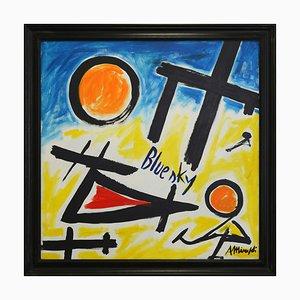 Antonio Minopoli, Bluesky, Acrylic on Canvas