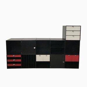 Storage Cubes from Palaset Treston, Finland, 1970s, Set of 11