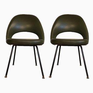 Chaises de Conférence par Eero Saarinen pour Knoll, 1960s, Set de 2