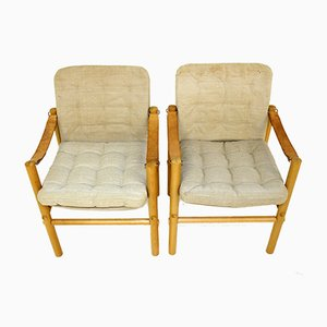 Armchairs from Dux, Sweden, 1970s, Set of 2