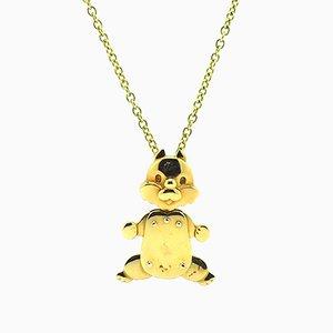 Halskette mit Eichhörnchen Hängelampe von Pomellato
