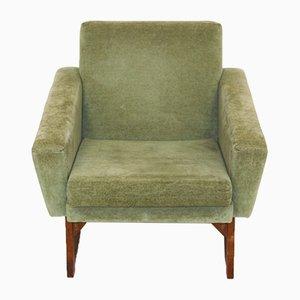 Velvet Armchair, Sweden, 1950s