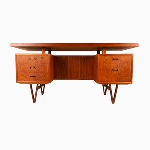 Danish Modern Teak Desk, 1960s