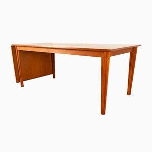 Danish Modern Teak Drop Leaf Dining Table, 1960s