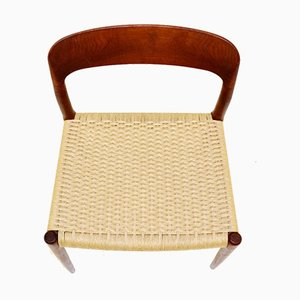 Model 75 Chairs by Niels Otto Møller for J. L. Møllers, Denmark, 1960s, Set of 8