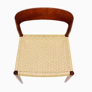 Modell 75 Stühle von Niels Otto Møller für JL Møllers, Dänemark, 1960er, 8er Set
