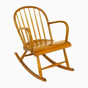 Rocking Chair in Birch, Sweden, 1950s