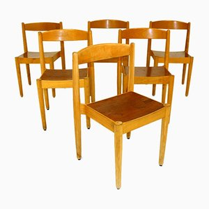 Teak Chairs by E. K. Augustsson, Sweden, 1960s, Set of 6