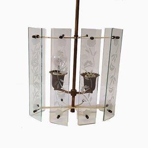Pendant Lamp from Fontana Arte, 1940s