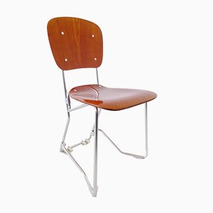 Aluflex Stacking Chairs by Armin Wirth for Ph. Zieringer KG