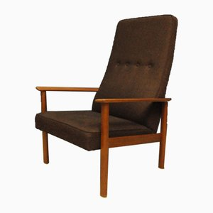 Vintage Brown Armchair from Bröderna AB Johanson