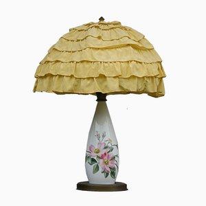 Jugendstil Tischlampe aus Porzellan, 1920er
